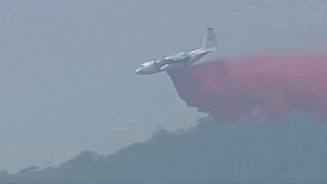 Feuer in Australien: Drei Tote bei Absturz eines Löschflugzeugs