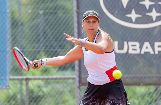 Niederlage im Einzel, Sieg im Doppel: Caroline Werner.