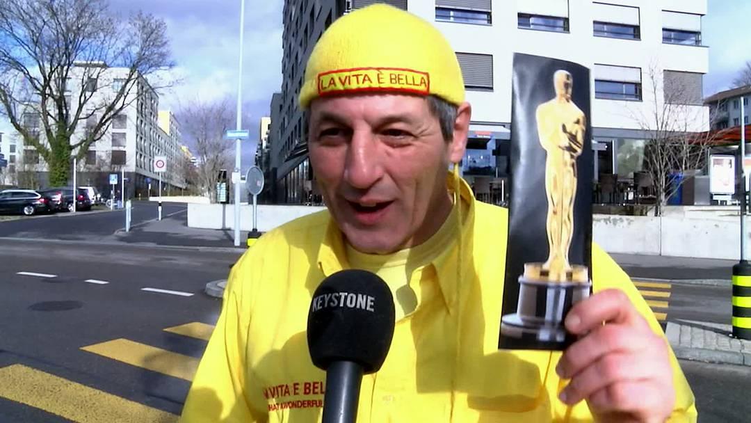 Wie geht Ihre Oscar-Rede?