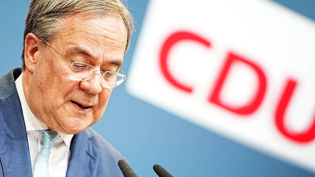 CDU-Chef Laschet will Rücktritt als Ministerpräsident einreichen
