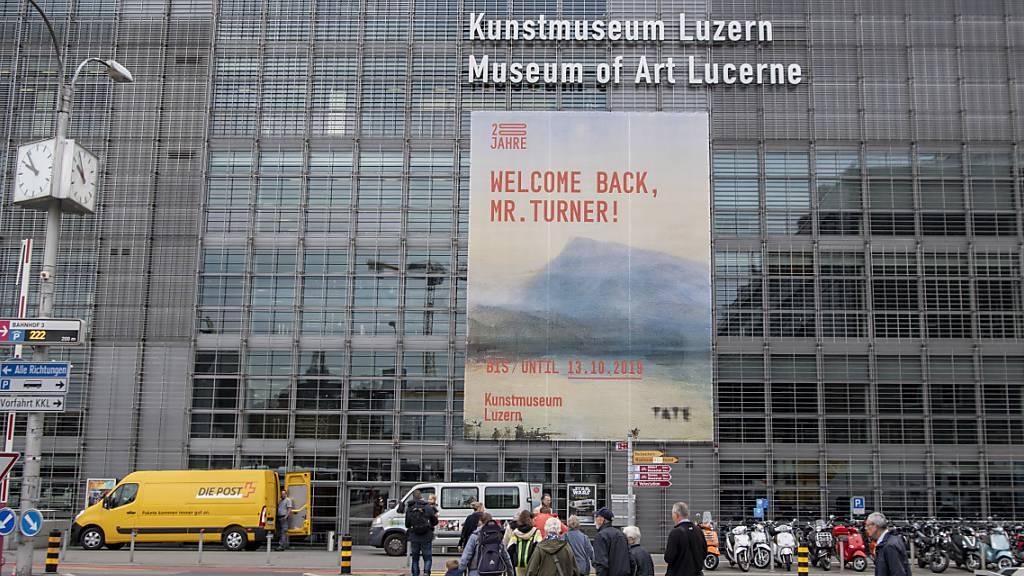 Turner-Ausstellung beschert Kunstmuseum Luzern ein Rekordjahr