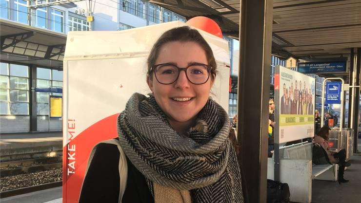 Anna Zeder (22), Studentin, Dintikon. Kim Wyttenbach