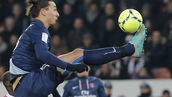 Fussball-Zauberer Ibrahimovic erzielte erneut einen Hattrick.