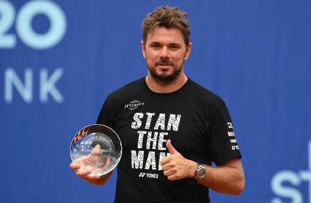 Stan Wawrinka gewann im August ein Challenger-Turnier in Prag.