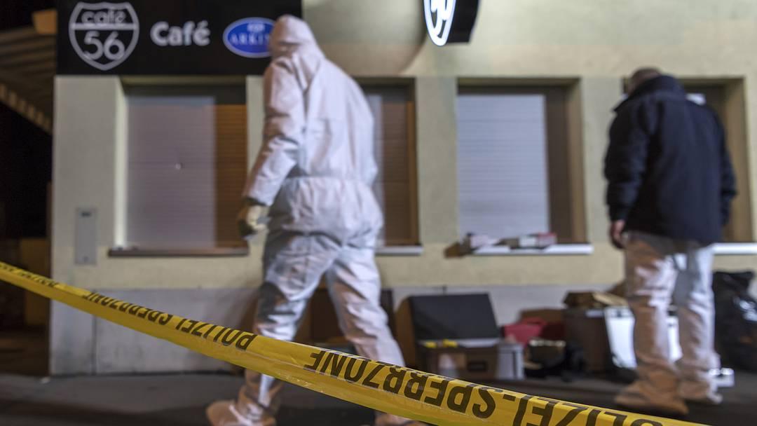 Schiesserei in Basel: Zwei Tote, ein Schwerverletzter