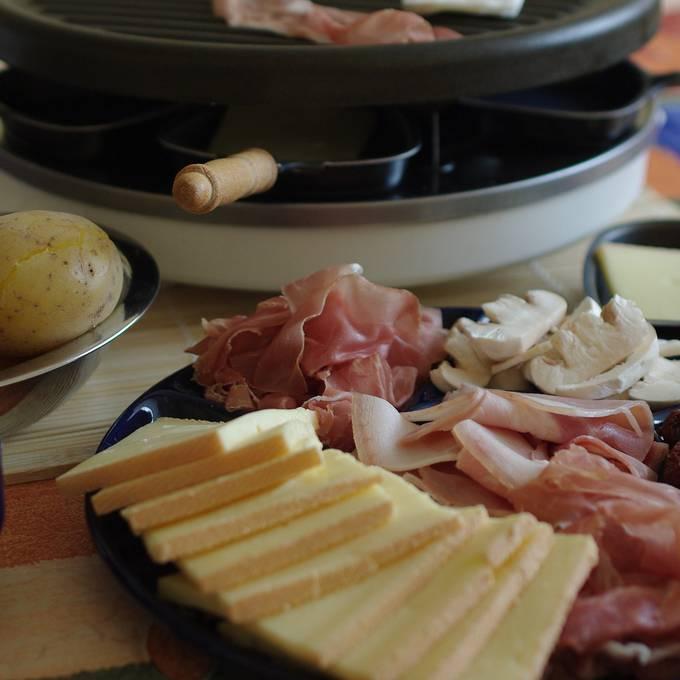 Wie gerufen! Sponti-Raclette!