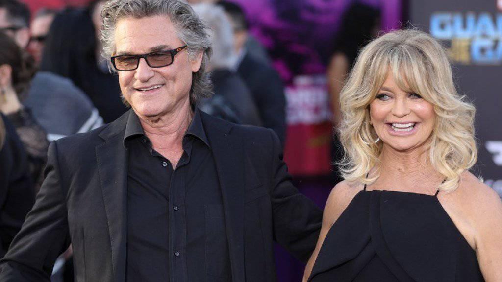 Doppelter Hollywood-Stern für Goldie Hawn und Kurt Russell