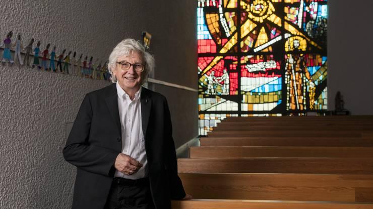 Manche Urdorfer Katholiken würden ihn gerne loswerden, andere nicht: Pfarrer Max Kroiss.