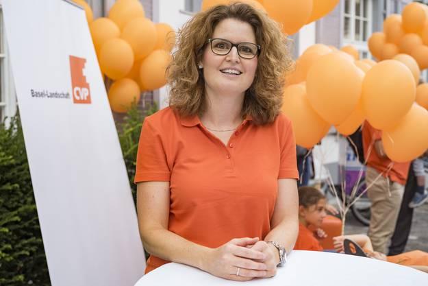 Parteipräsidentin Brigitte Müller-Kaderli