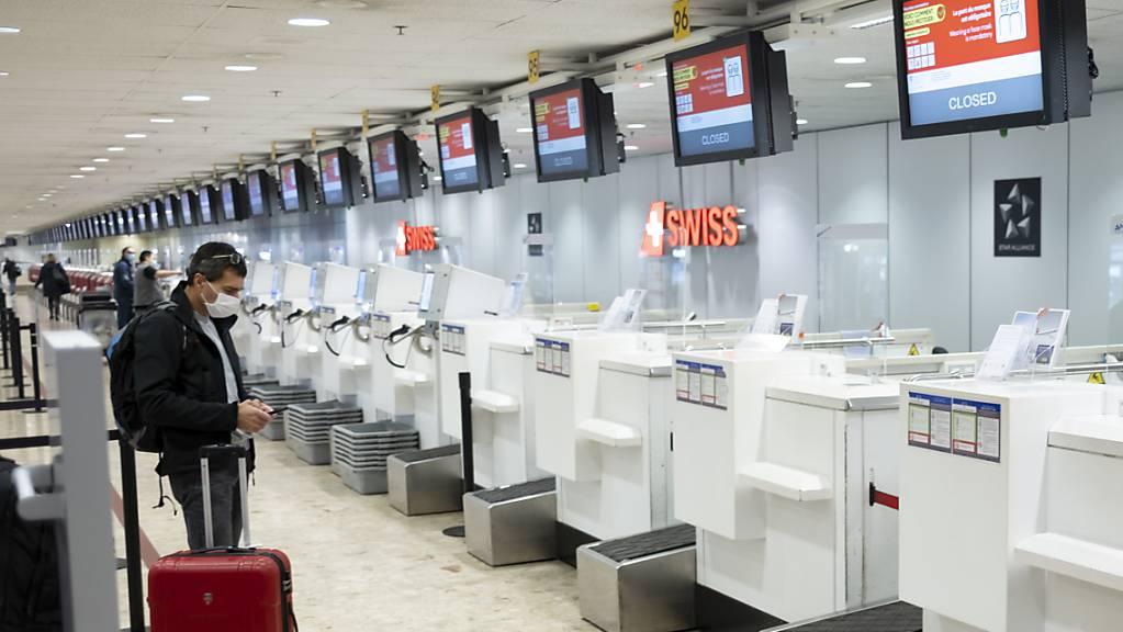 Flughafen Genf verzeichnet 2020 Passagierrückgang um 69 Prozent. (Archiv)