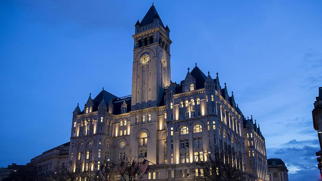 Die Trump Organization will sich von den Nutzungsrechten ihres Luxushotels in Washington trennen - die Kritik an den sprudelnden Einnahmen spielt dabei eine Rolle. (Archivbild)