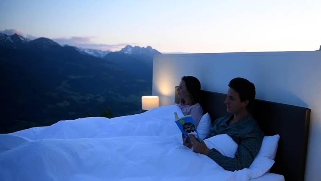 """""""Null Stern""""-Hotelzimmer unter freiem Himmel"""
