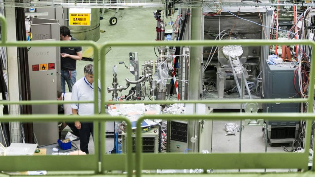 Cern-Forschende messen Quanteneffekt am Anti-Wasserstoff
