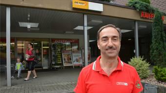 Roni Bürgi vom Spar-Laden sieht die Integration der Postagentur als Chance.