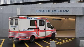 84 positiv Getestete befinden sich im Spital, davon werden 19 künstlich beatmet. (Symbolbild)