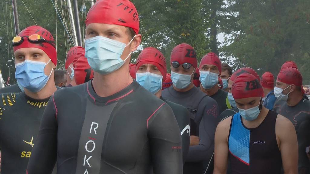 31. internationale Triathlon Uster in Vollmontur - inklusive Schutzmaske