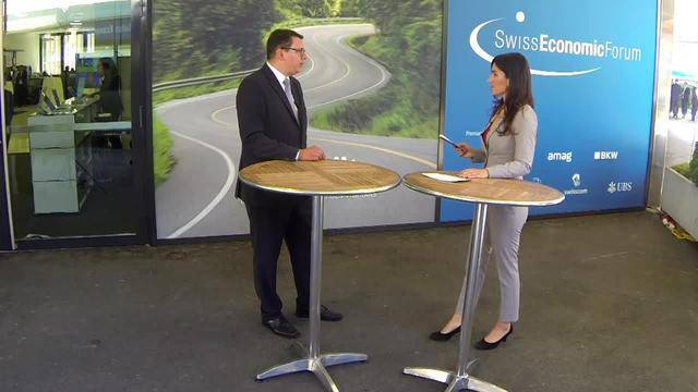 Sondersendung am 18. Swiss Economic Forum SEF 2016