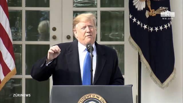 Für Mauerbau: Trump ruft Notstand aus