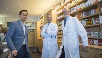 Geoffrey Hürtgen (Mitte) war leitender Arzt der Paracelsus Klinik Lustmühle. (Archivbild)
