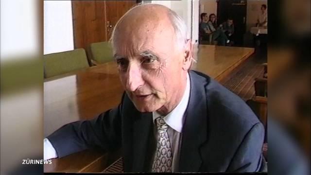 Alt Regierungsrat Alfred Gilgen gestorben