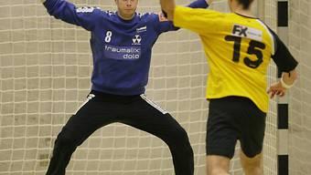 Basels Goalie Pascal Stauber
