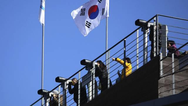 Südkoreaner werfen gespannte Blicke in Richtung Nordkorea