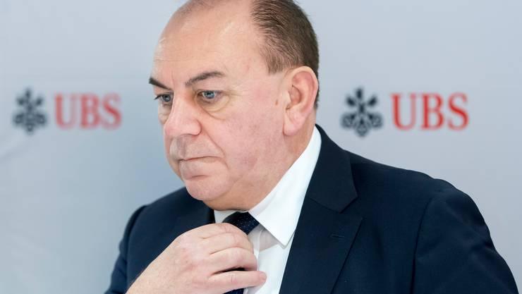 Will er sich ein Denkmal setzen? UBS-Präsident Axel Weber