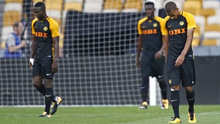 Die Young Boys verlieren das Hinspiel gegen Dynamo Kiew auswärts mit 1:3