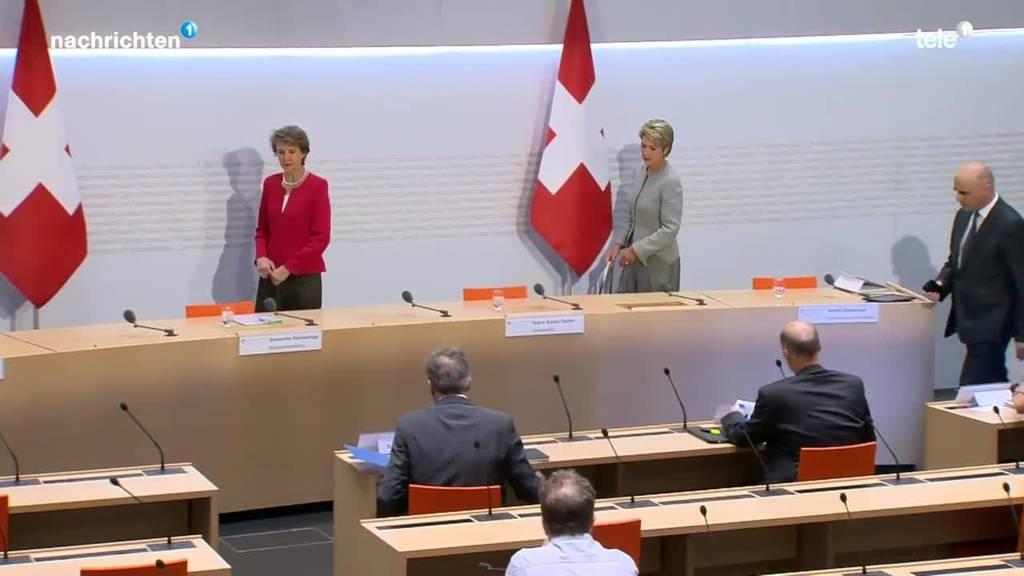 Medienkonferenz Bundesrat