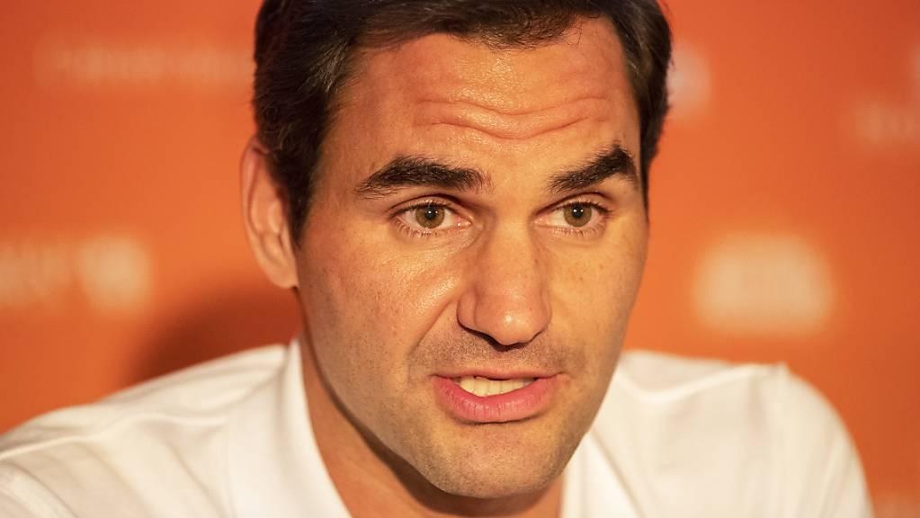 Roger Federer will es in den ersten Wochen nach seiner langen Zwangspause langsam angehen.