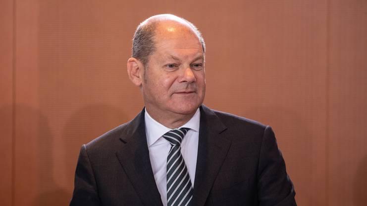 Will nicht in die Fussstapfen Nahles treten: SPD-Vorsitzender Olaf Scholz.