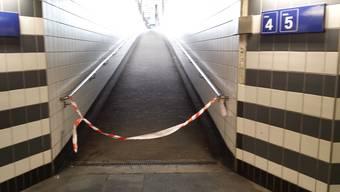 Personenunfall am Bahnhof Aarau