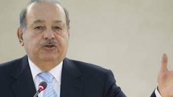 Carlos Slim bleibt das mexikanische Fernsehgeschäft verwehrt (Archiv)