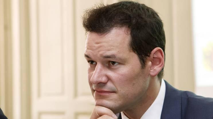 Der Genfer Sicherheitsdirektor Pierre Maudet würde den Bundesrat verjüngen. (Archiv)
