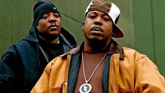 Die beiden Rap-Stars Billy Danze (links) und Lil Fame von M.O.P. sind diesen Freitag im Provisorium 8 zu Gast.