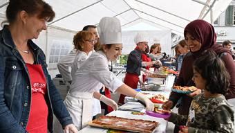 Dritte Ausgabe des Foodsave-Banketts in Olten