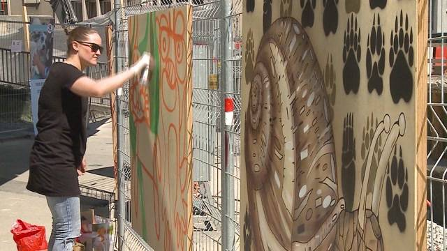 Streetart goes Tierschutz