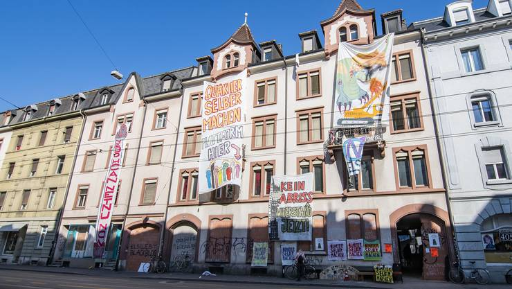 Besetzte Häuser Elsässerstrasse