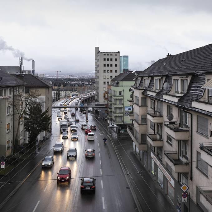 Zürcher Stadtrat will Tempo 30 auf der Rosengartenstrasse