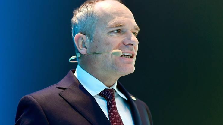 Urs Breitmeier ist CEO der Ruag.