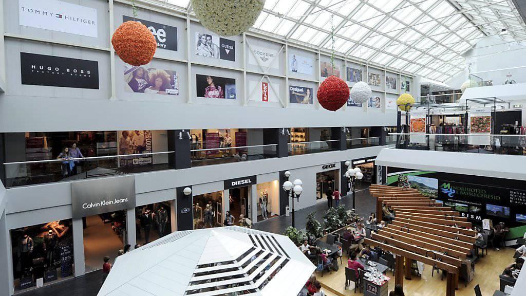 Die fetten Jahre sind für die Einkaufszentren vorbei. Diese müssen sich nun neu erfinden. (Archiv)