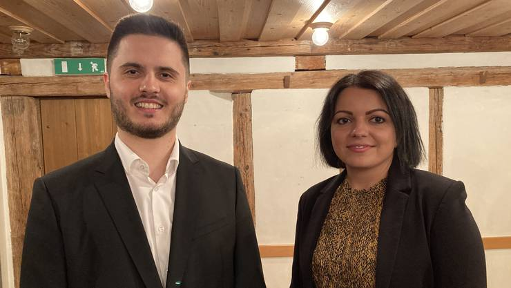 Kushtrim Aziri und Rixhil Agusi bilden das neue Co-Präsidium der SP Schlieren.