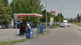 BP-Tankstelle in Rheinfelden: Der Mann bedrohte die Angestellte mit einem Messer.