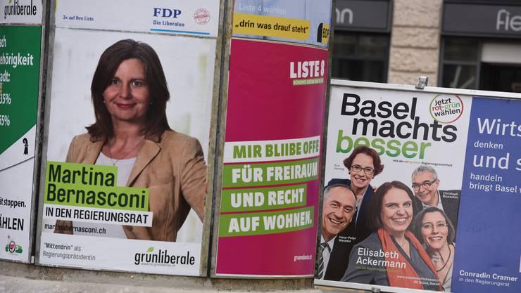 Wahlplakate 2016