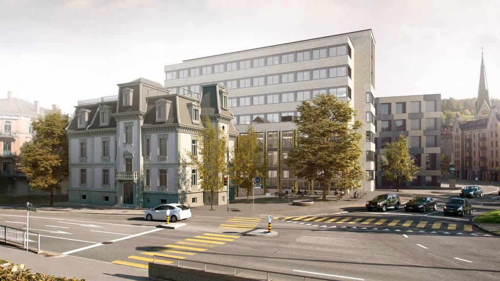 Die Villa Wiesental wird jetzt zur Baustelle