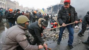 Die Gewalt eskaliert in der Ukraine