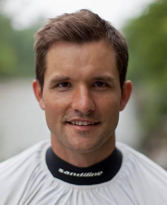 Mike Kurt (34), Kanufahrer, neu in Solothur