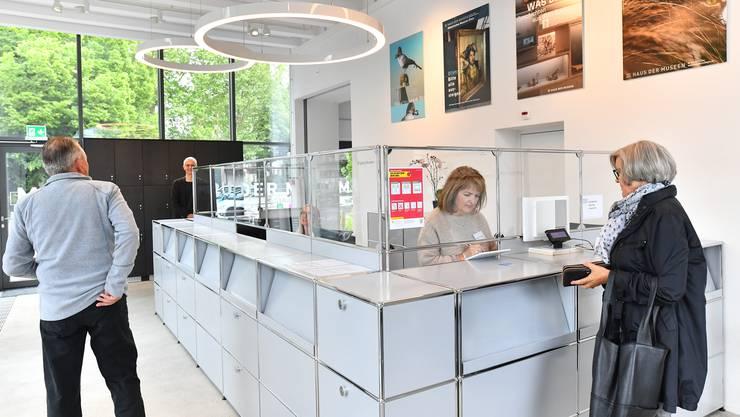 Das Haus der Museen öffnete am Dienstag um 10 Uhr seine Türen wieder – unter etwas anderen Umständen als zuvor.