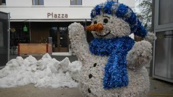 Wintereinbruch in Baden ? ... nicht wirklich ...