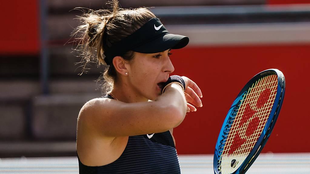 Belinda Bencic startet bei ihrer Olympia-Premiere gegen die Amerikanerin Jessica Pegula ins Turnier.
